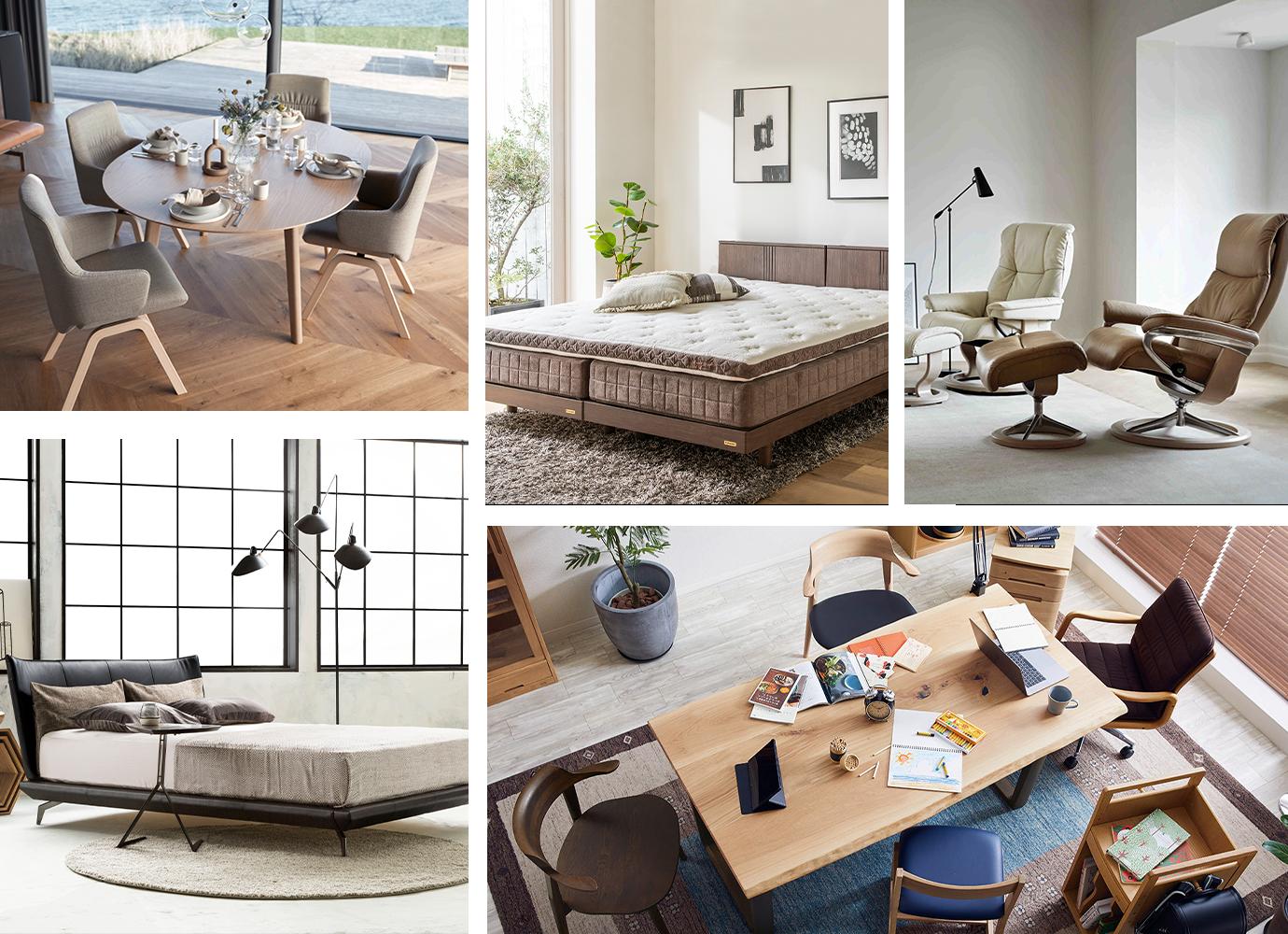 最高の家具を、もっと近くで体感