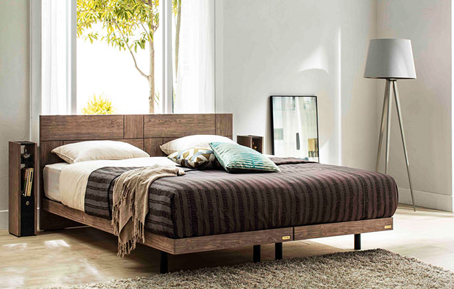 おもてなしの国の精神で作る、日本生まれの日本人のためのベッド。